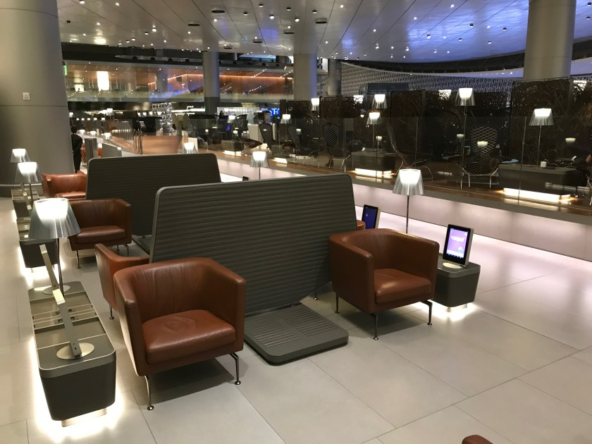 Al Mourjan Business Class Lounge Seating
