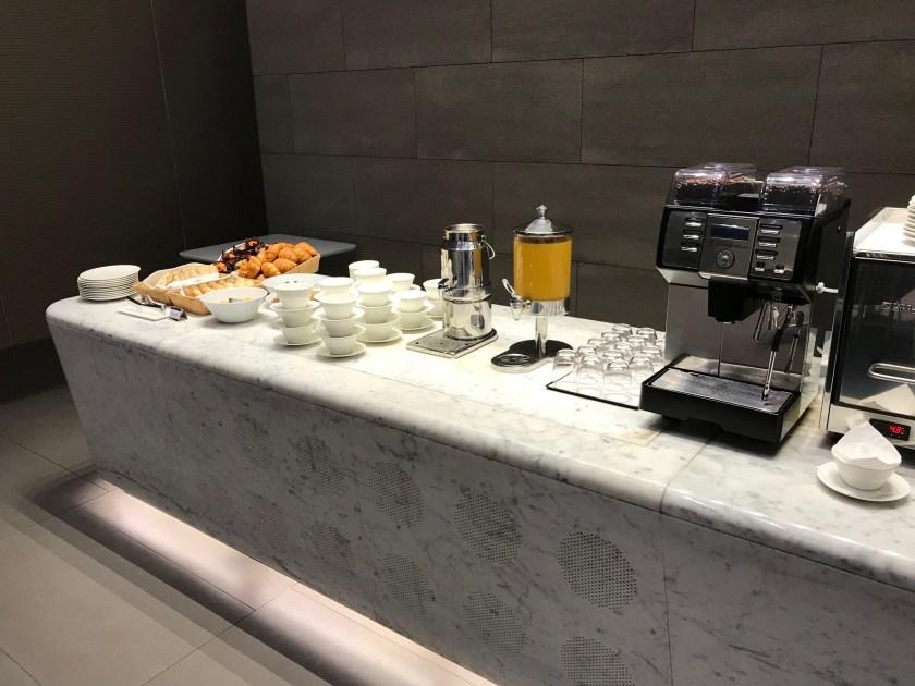 Al Mourjan Business Class Lounge Dining Resort Pastry Buffet