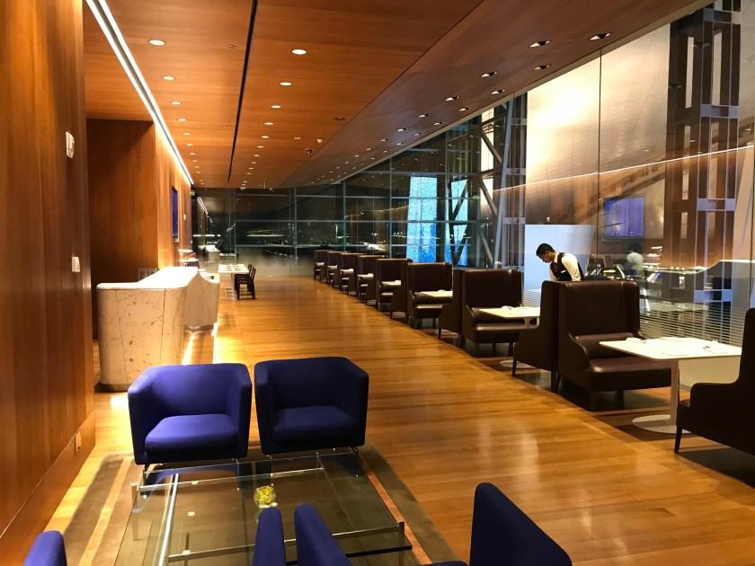 Al Mourjan Business Class Lounge Restaurant Dining Area