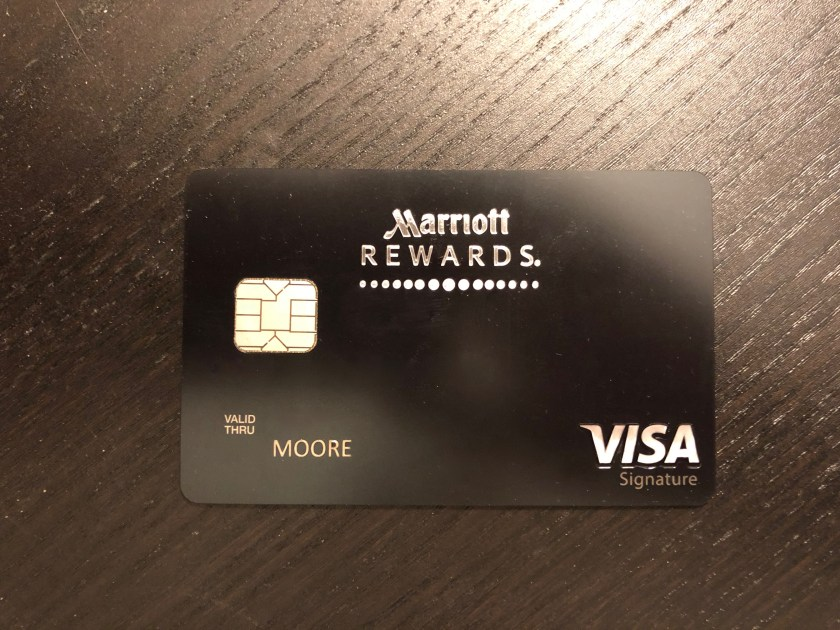 My New Chase Marriott Rewards Premier Plus Card Arrived - Moore With ...