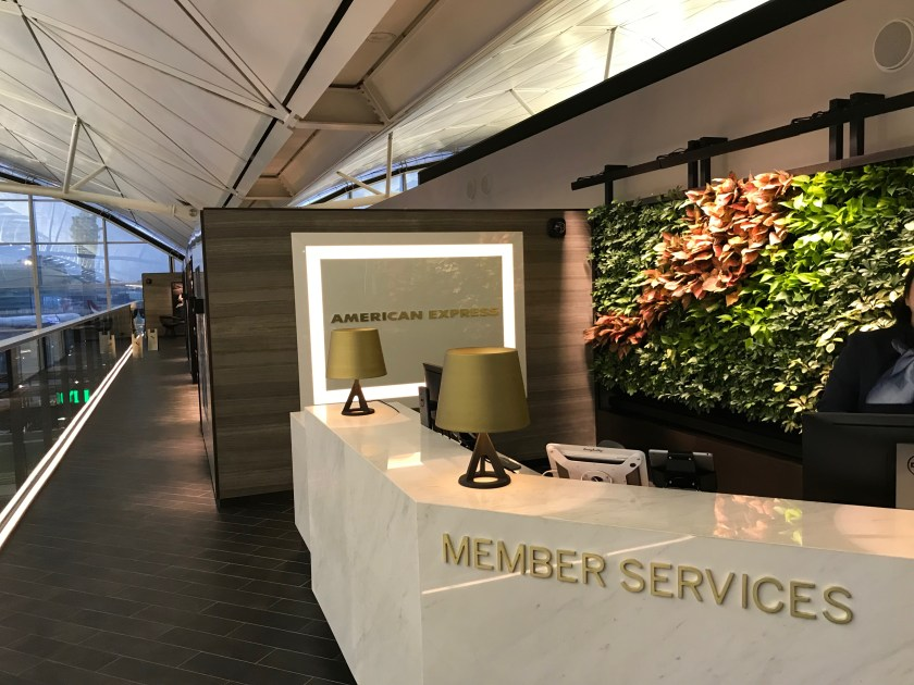 American Express Centurion Lounge Hong Kong Entrance