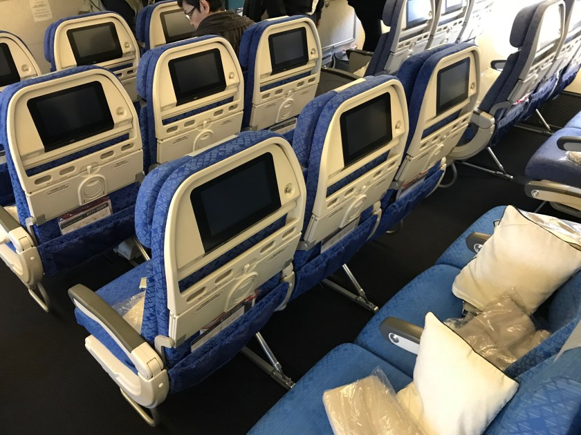 Cathay Pacific 777-300ER Economy Class Seat-Back
