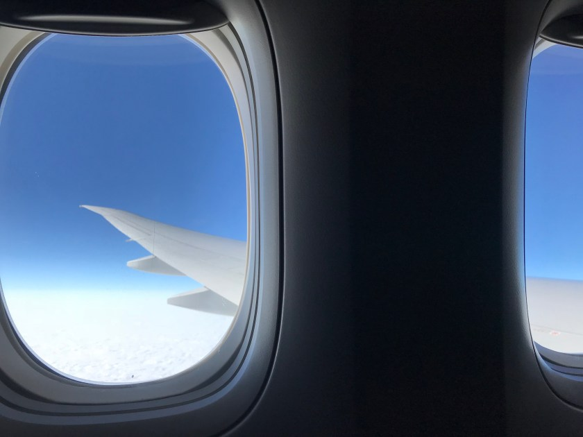 Cathay Pacific 777-300ER Wing Flex