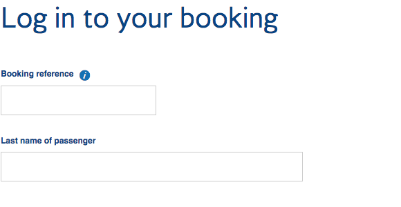 Retrieve A British Airways Booking Reference From An American Airlines Record Locator