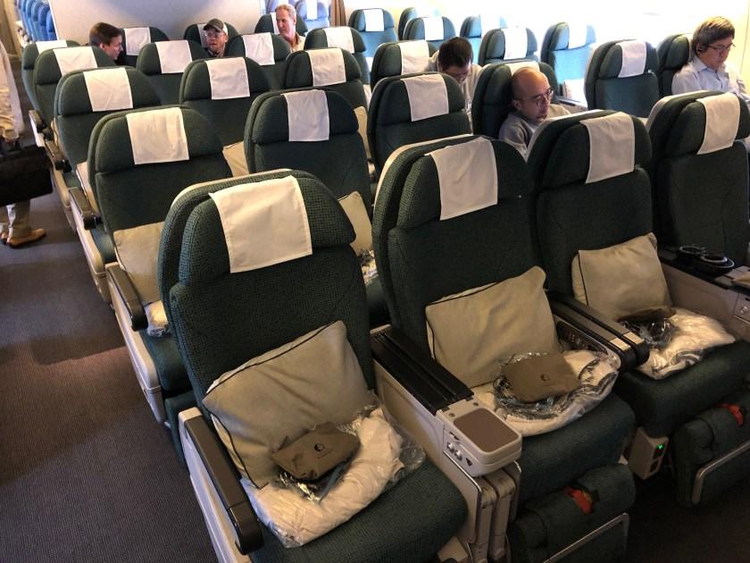 Cathay Pacific 777 Premium Economy