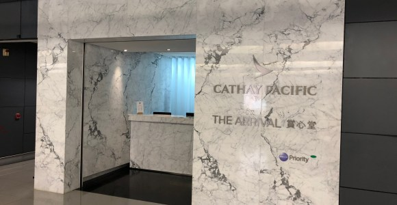 Lounge Review: Cathay Pacific The Arrival Hong Kong International