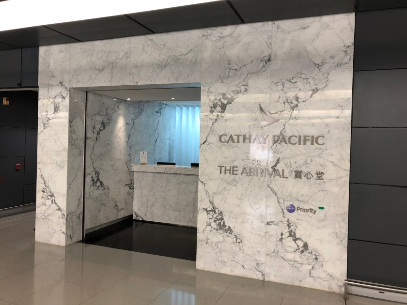 Cathay Pacific The Arrival Lounge