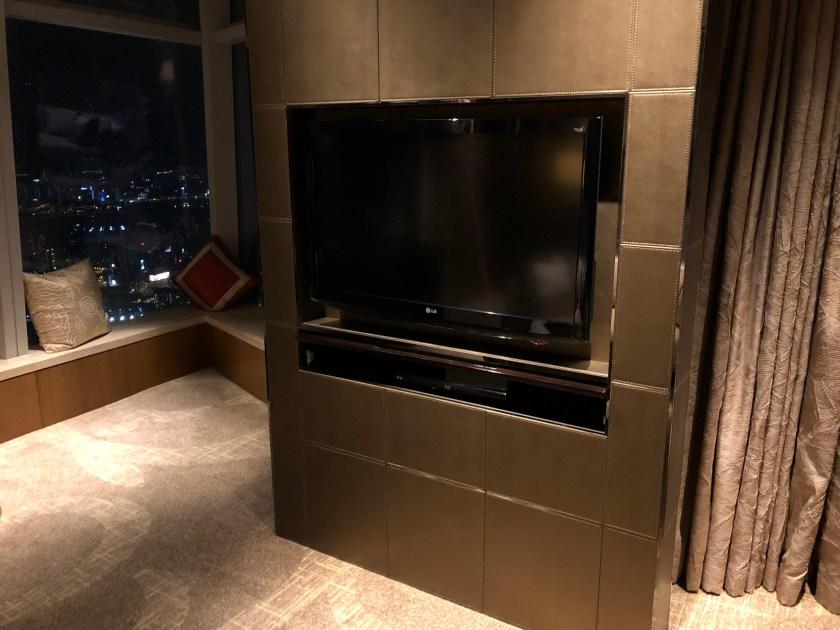 The Ritz-Carlton Hong Kong 112-15 Television Set