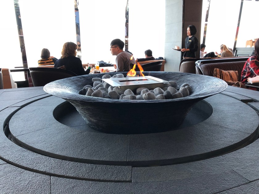 The Lounge Restaurant Fire Pit