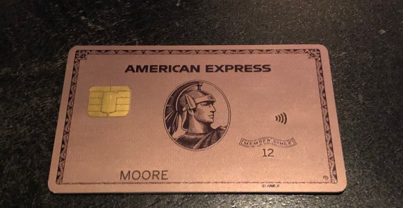 My American Express >> My New American Express Metal Rose Gold Card Arrived Moore With Miles