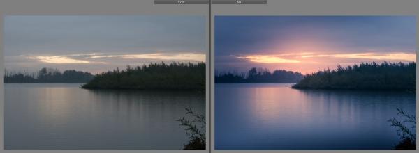 Fotowandeling Voor en Na foto