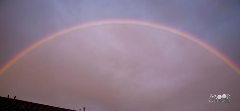 Water fotograferen - regenboog