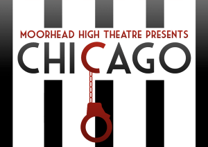 Chicago The Musical logo - Moorhead High School theater