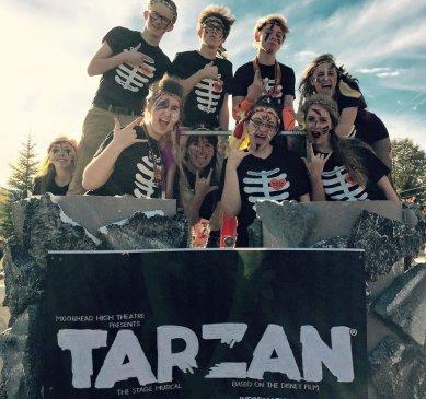 TARZAN Homecoming Parade -1