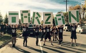 TARZAN Homecoming Parade -5