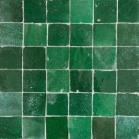 Green Moroccan Tile