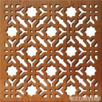 Jali Screen | Moroccan Decorative Screens | Geometric wood ...