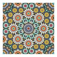 Decorative ceramic tile | Tile murals| Moroccan Tiles