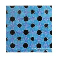 Moroccan mosaic tile | Moorish tile design