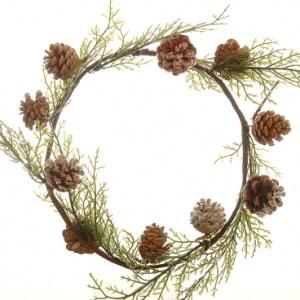 Christmas Wreath Fern 22cm