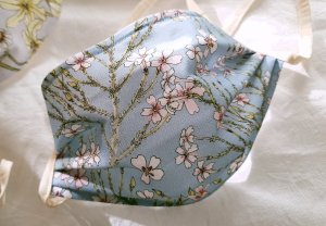 Jamesbrittenia Botanical Reusable Cotton Face Mask