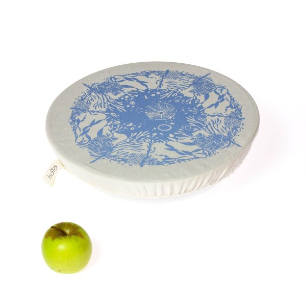 Halo Dish and Bowl Cover Large   Beach House