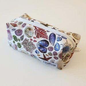 CoralBloom Box Zip Bags Seashells