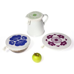 Halo Dish and Bowl Cover Small Set of 3 | Edible Flowers