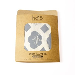Halo Dish and Casserole Cover Rectangle   Edible Flowers
