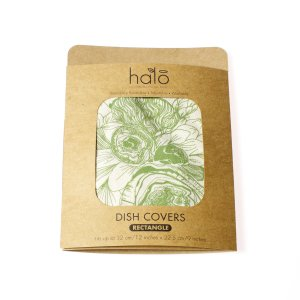 Halo Dish and Casserole Cover Rectangle | Edible Flowers