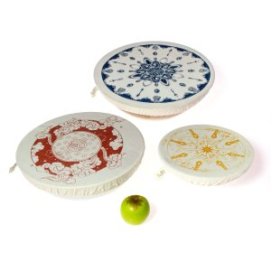Halo Dish and Bowl Cover Large Set of 3 | Utensils