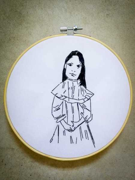 Hester - Ring | Embroidery