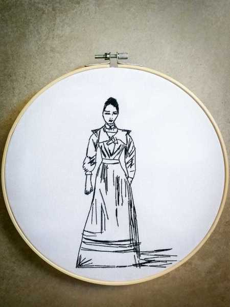 Celia - Ring   Embroidery