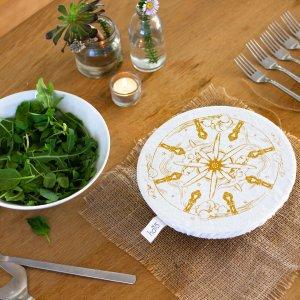 Halo Dish and Bowl Cover Medium Utensils