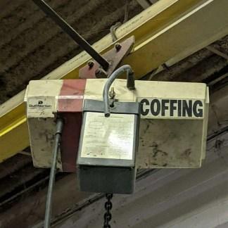 1 Ton Coffing Hoist Duff Norton Lot 195I MOOSE #H5