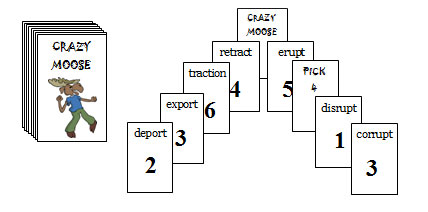 RT3 Crazy Moose Roots 1 (port, tract, rupt, dict, ject