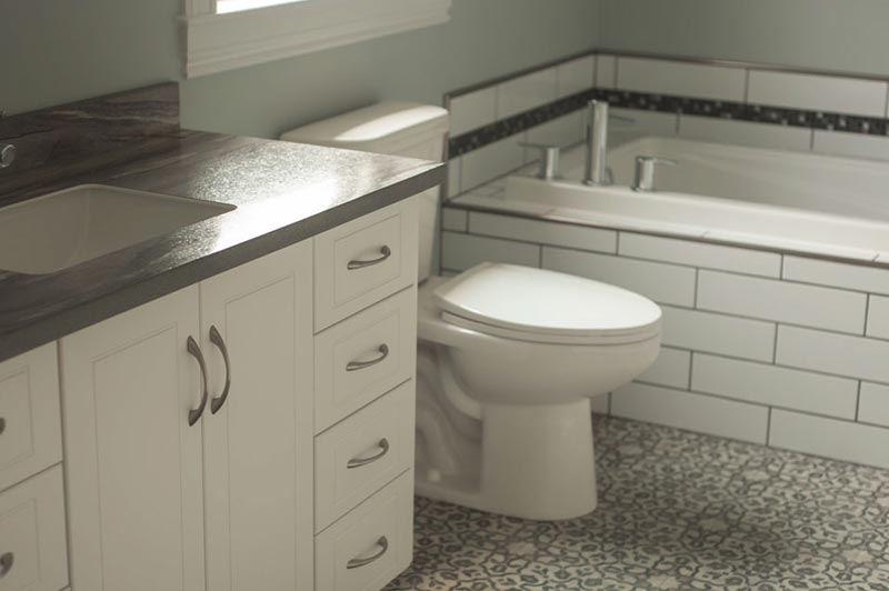 Bathroom renovation in Bristol Heights