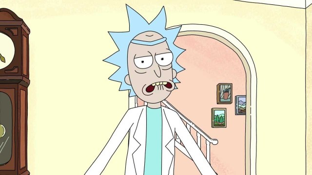 Rick from Rick and Morty