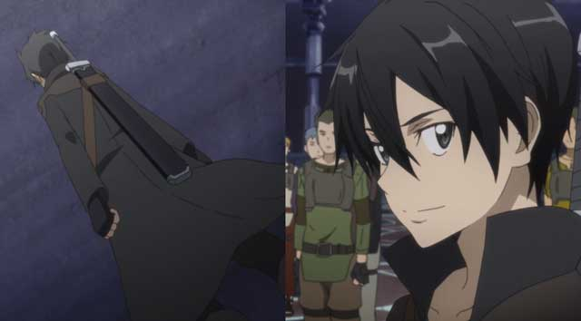 Kirito gets new threads