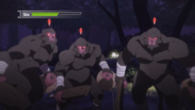 Monkey-Squatch Attack Sword Art Online