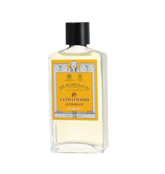 DR Harris Sandalwood Aftershave Lotion