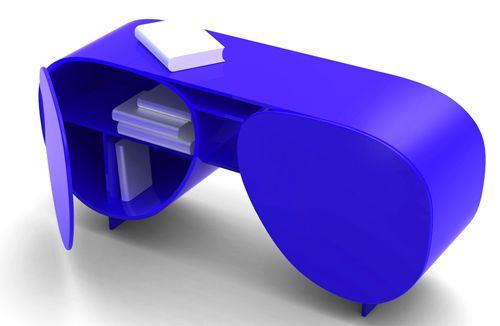 eyewears library estanteria forma gafas diseñador dzmitry samal