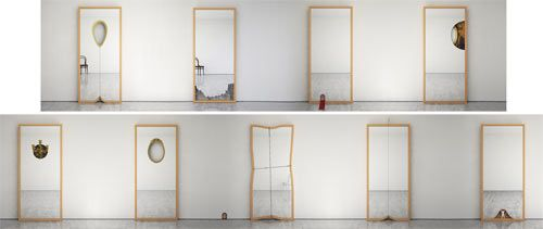 serie mirrors espejos ron gilad