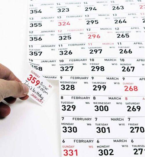 Calendarios originales para 2013