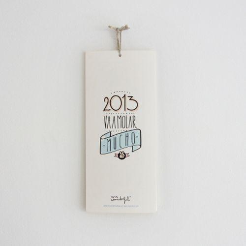 calendario 2013 wonder frases cada mes