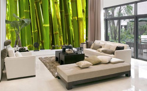 decoracion pared bambu empresa mouk