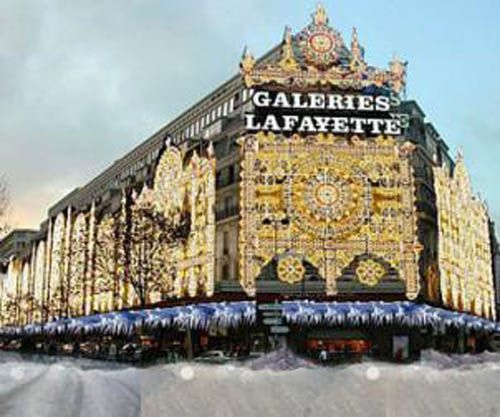 centro comercial lujo galeries lafayette