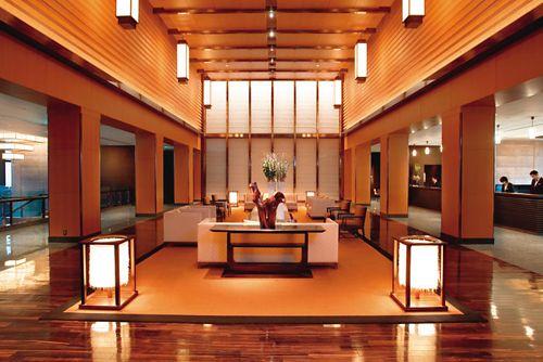 recepcion hotel lujo mandarin oriental tokyo