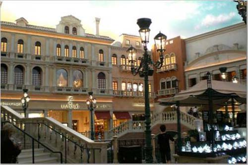 centro comercial lujo the grand canal shoppes