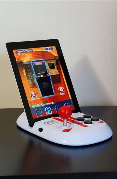 atari arcade duo powered controlador ipad controlador consola ipad
